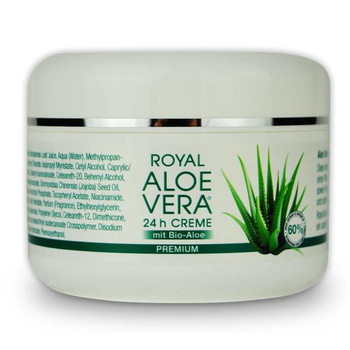 Royal Aloe Vera 24h Gesichtscreme aus Bio Aloe Vera