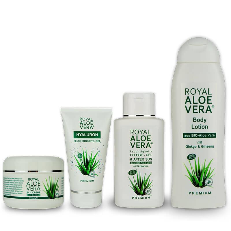 Populære Royal Aloe Vera Kennenlern Set Gel / Creme / Bodylotion – Royal IM-23