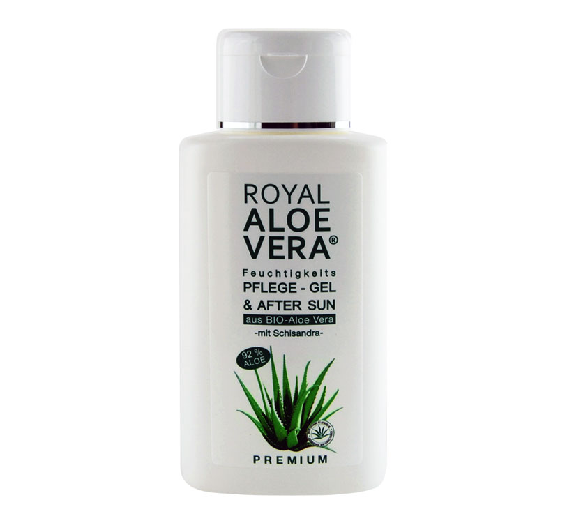 royal aloe vera pflege gel 24h creme bodylotion. Black Bedroom Furniture Sets. Home Design Ideas